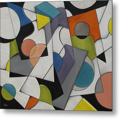 Circles Of Life Metal Print by Trish Toro