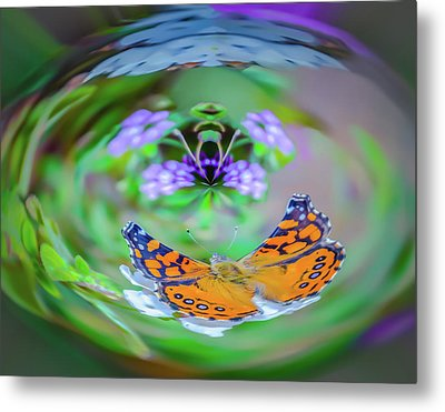 Circularity Metal Print by Mark Dunton