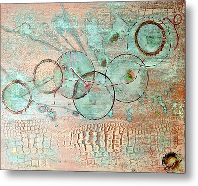 Threads Of Possibility Metal Print
