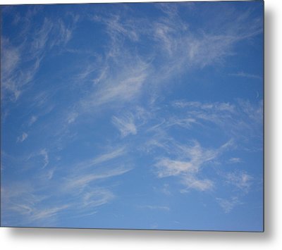 Cirrus Clouds Metal Print