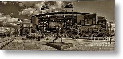 Citizens Park Panoramic Metal Print by Jack Paolini