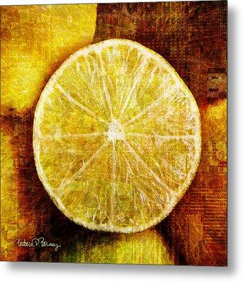 Citrus Metal Print by Barbara Berney