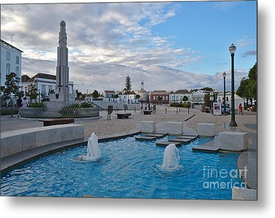 City Center Of Tavira Metal Print