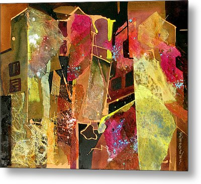 City Colors Metal Print
