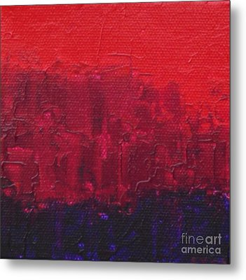 City Metal Print by Emily Young