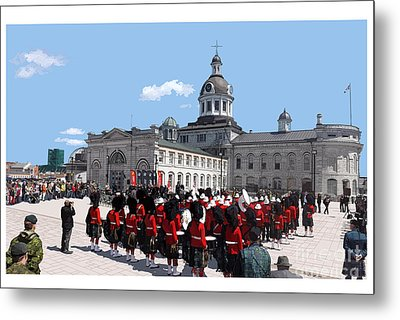City Hall Metal Print by Kevin Sweeney