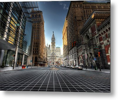 City Hall Metal Print by Lori Deiter