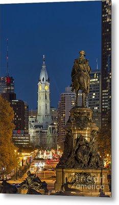 City Hall Philadelphia Metal Print by John Greim