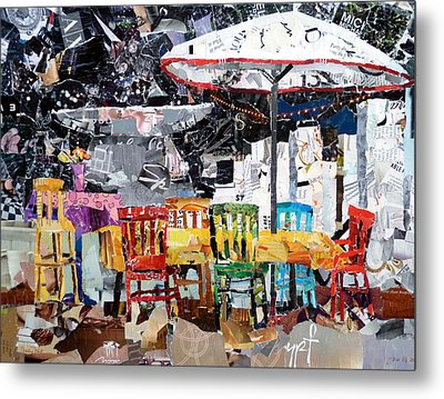 City Life Metal Print by Suzy Pal Powell