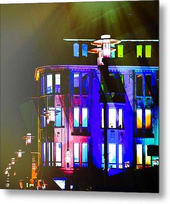 City Lights Mood Metal Print by Nicole Frischlich
