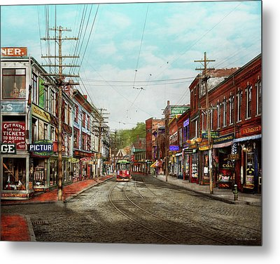 Metal Print featuring the photograph City - Ma Glouster - A Little Bit Of Everything 1910 by Mike Savad