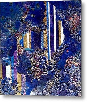 City Mirage Metal Print by Lynda Stevens