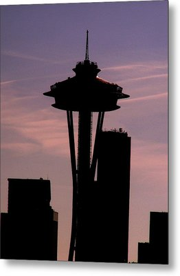 City Needle Metal Print by Tim Allen
