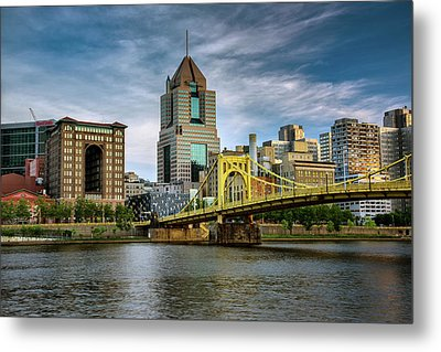 City Of Bridges Metal Print by Rick Berk