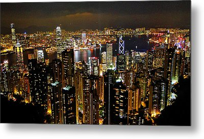 Metal Print featuring the photograph City Of Lights by Blair Wainman