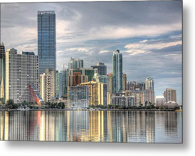 City Of Miami Metal Print