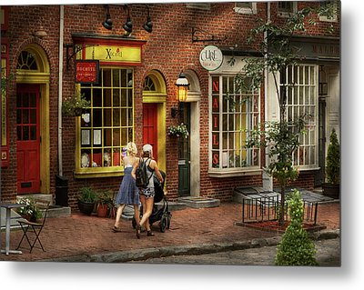 City - Philadelphia, Pa - A Day Out With My Baby Metal Print