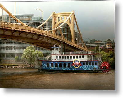 City - Pittsburg Pa - Great Memories Metal Print by Mike Savad