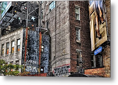 City Scenes Nyc Metal Print by Steve Archbold