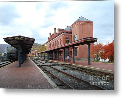 Metal Print featuring the photograph City Station by Eric Liller