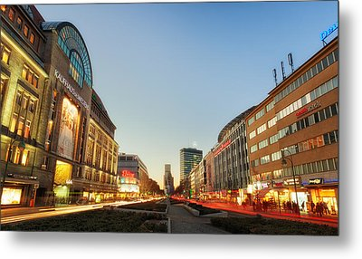 City West - Berlin Metal Print
