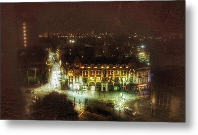 Metal Print featuring the photograph Citylife by Isabella F Abbie Shores FRSA