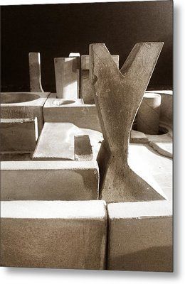 Cityscape 16 Metal Print by David Umemoto