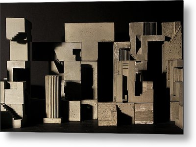 Cityscape 9 Metal Print by David Umemoto