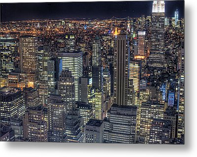 Cityscape Metal Print by Jason Pierce Photography (jasonpiercephotography.com)