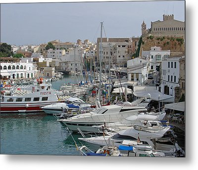 Ciutadella Marina Metal Print by Rod Johnson