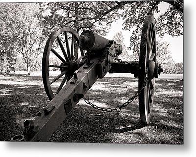 Civil War Cannon Metal Print by Edward Myers