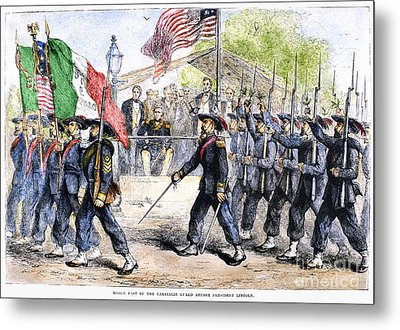 Civil War: Garibaldi Guard Metal Print by Granger