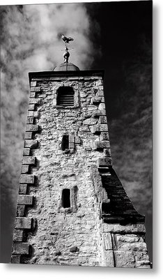 Clackmannan Tollbooth Tower Metal Print