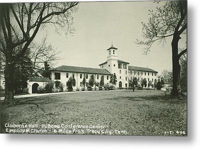 Claiborne Hall - Dubose Conference Center - Episcopal Church - Monteagle Tn Grundy County Tennessee Metal Print by Cody Cookston