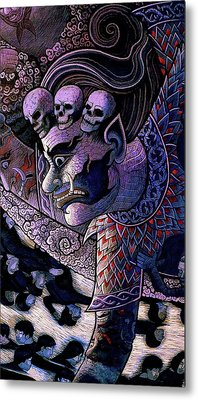 Claiming Lost Souls  Metal Print by Ian Gledhill