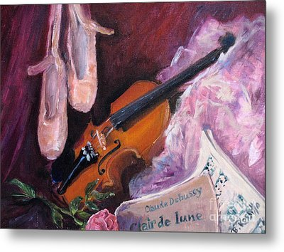 Clair De Lune Metal Print by B Rossitto