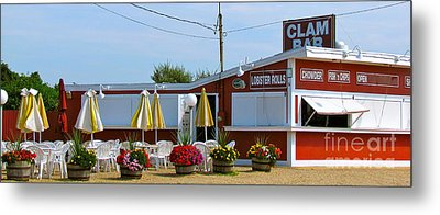 Clam Bar Metal Print