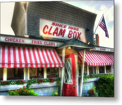 Clam Box Restaurant - Ipswich Ma Metal Print