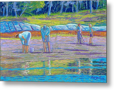 Clam Diggers Metal Print by Rae  Smith  PSC