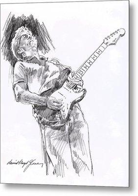 Clapron Blues Down Metal Print by David Lloyd Glover