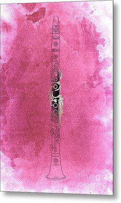 Clarinet 21 Jazz R Metal Print