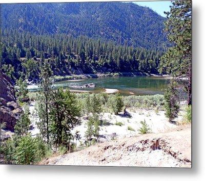 Clark Fork River Missoula Montana Metal Print