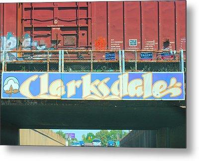 Clarksdale Overpass Metal Print