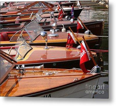Classic Boats Metal Print