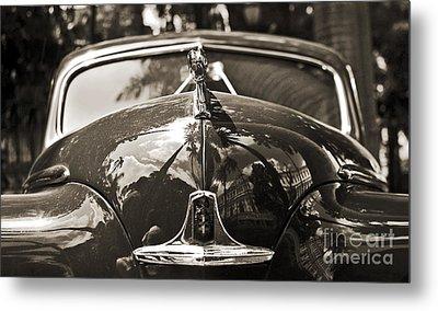 Classic Car Detail - Dodge 1948 Metal Print