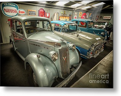 Metal Print featuring the photograph Classic Car Memorabilia by Adrian Evans