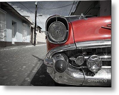Classic Car - Trinidad - Cuba Metal Print by Rod McLean