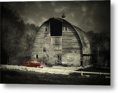 Metal Print featuring the photograph Classic Chevrolet  by Julie Hamilton