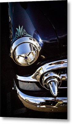 Classic Chrome  Metal Print by Merrick Imagery