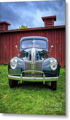 Classic Ford Canterbury Shaker Village Metal Print by Edward Fielding